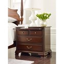 Kincaid Furniture Hadleigh Traditional Four Drawer Bachelor's Chest with Pull-Out Laminate Shelf