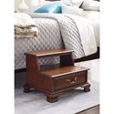 Kincaid Furniture Hadleigh Traditional Bed Steps with One Drawer