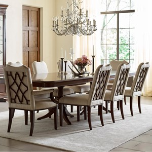Kincaid Furniture Hadleigh 9 Pc Dining Set