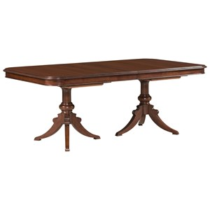 Kincaid Furniture Hadleigh Double Pedestal Dining Table - Complete