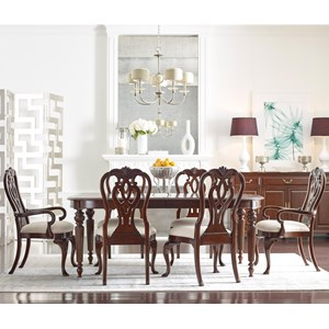 Kincaid Furniture Hadleigh 7 Pc Dining Set