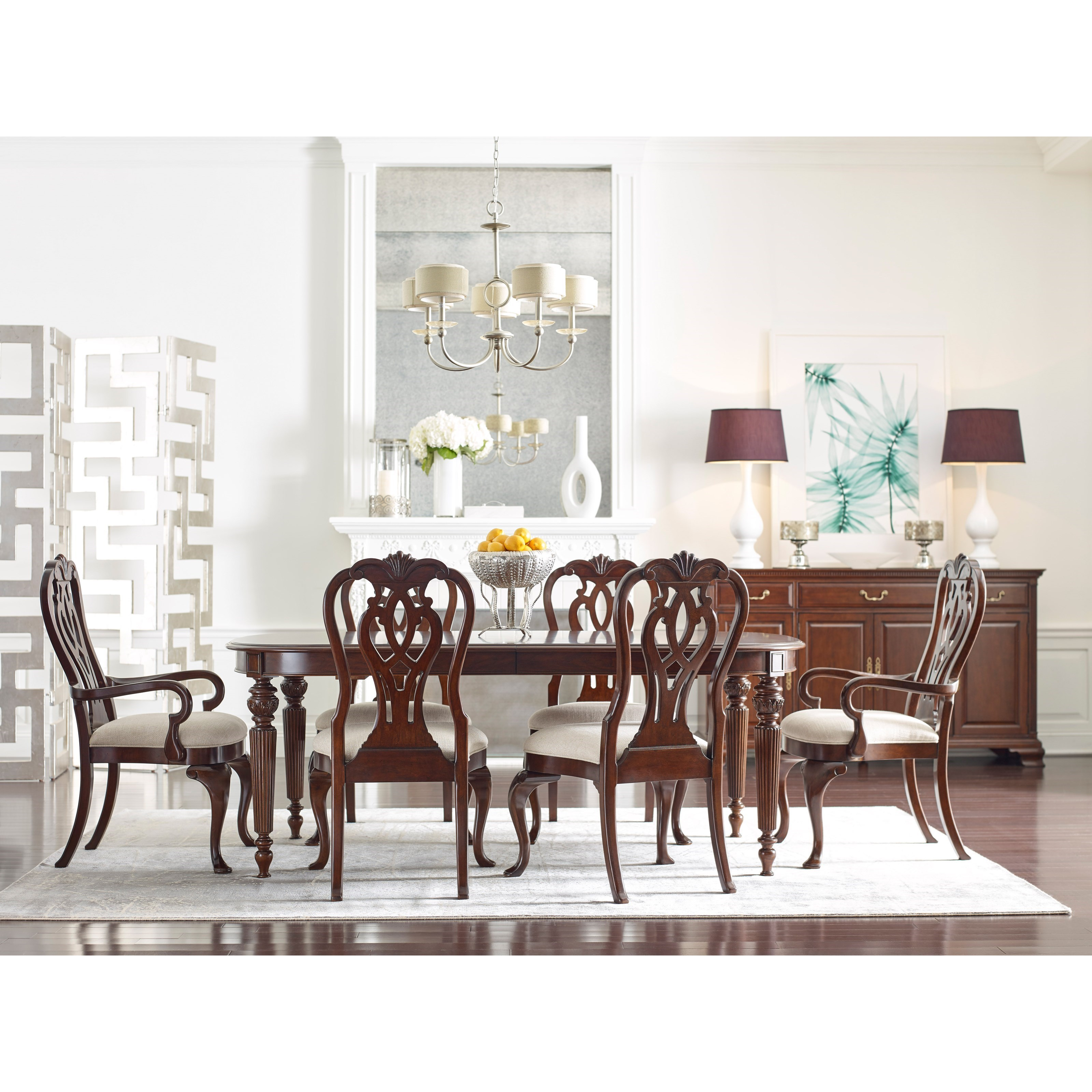 Kincaid Dining Room Furniture: Kincaid Furniture Hadleigh Traditional Oval Dining Table