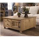 Kincaid Furniture Homecoming Square Cocktail Table with Four Drawers & Two Drawers - 33-024