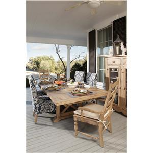 Kincaid Furniture Homecoming Seven Piece Dining Table Set