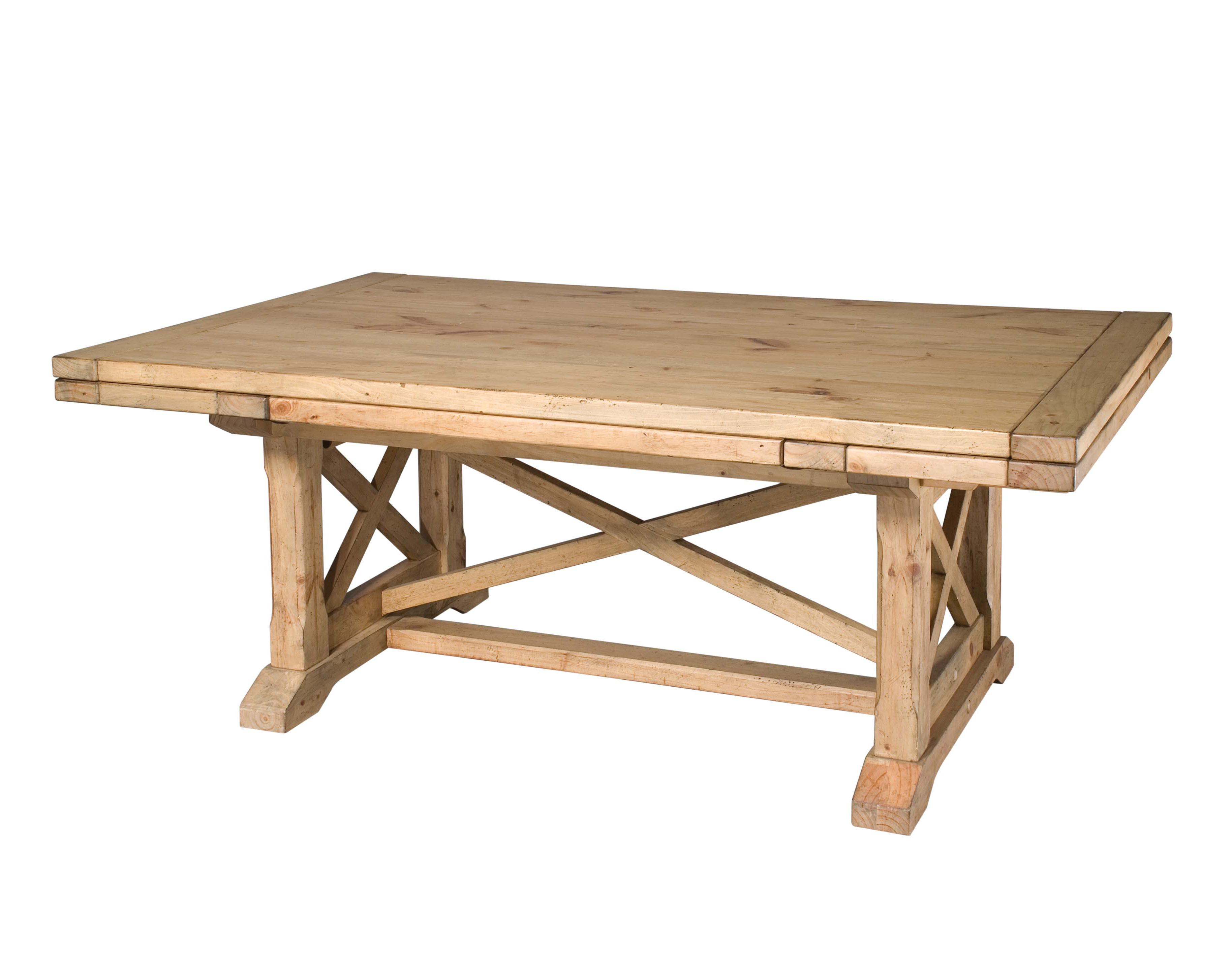 Kincaid Furniture Homecoming Refectory Trestle Table Item Number 33 054b 054t