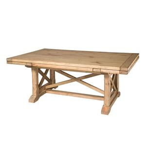 Kincaid Furniture Homecoming Refectory Trestle Table