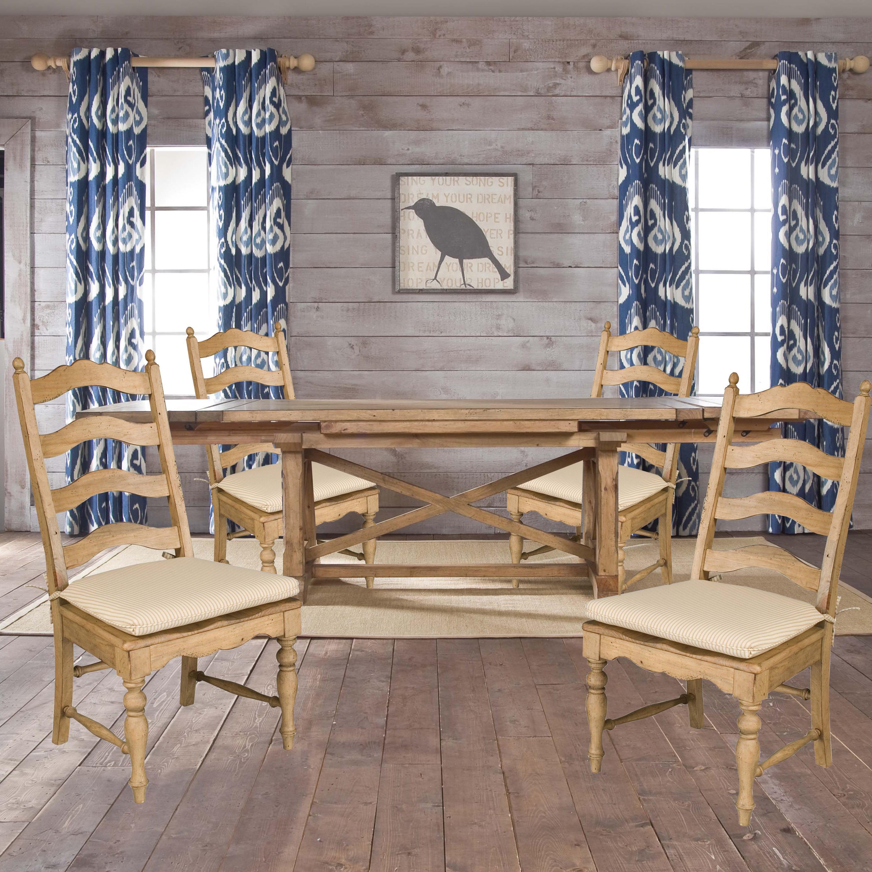 Kincaid Furniture Homecoming 5 Piece Set - Item Number: 33-054B+T+4x061