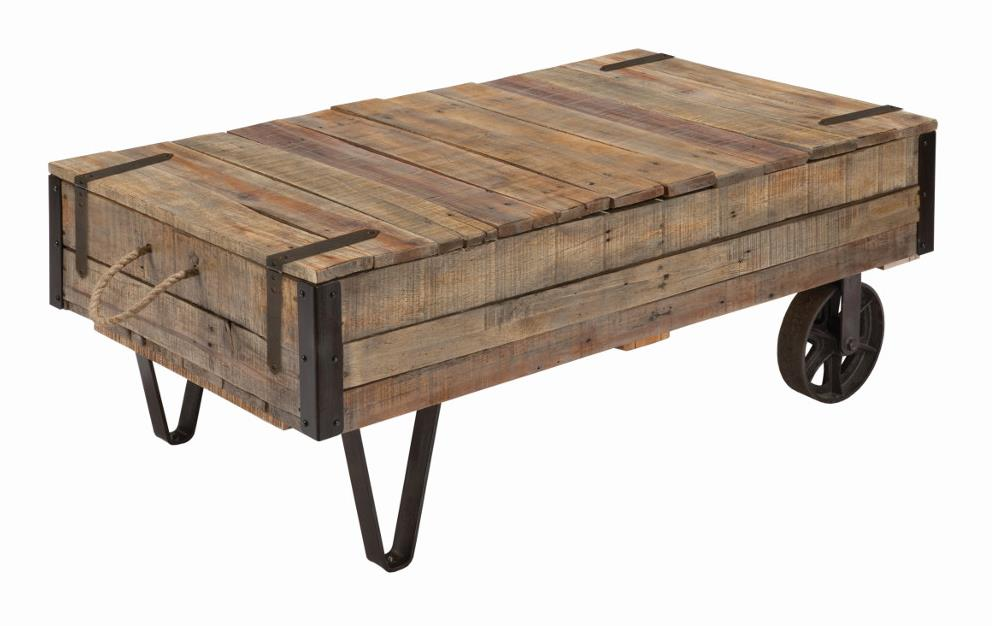 Kincaid Furniture Homecoming Industrial Cart Cocktail Table - Item Number: 37-025