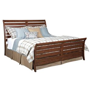 Kincaid Furniture Homecoming Queen Cumberland Sleigh Bed