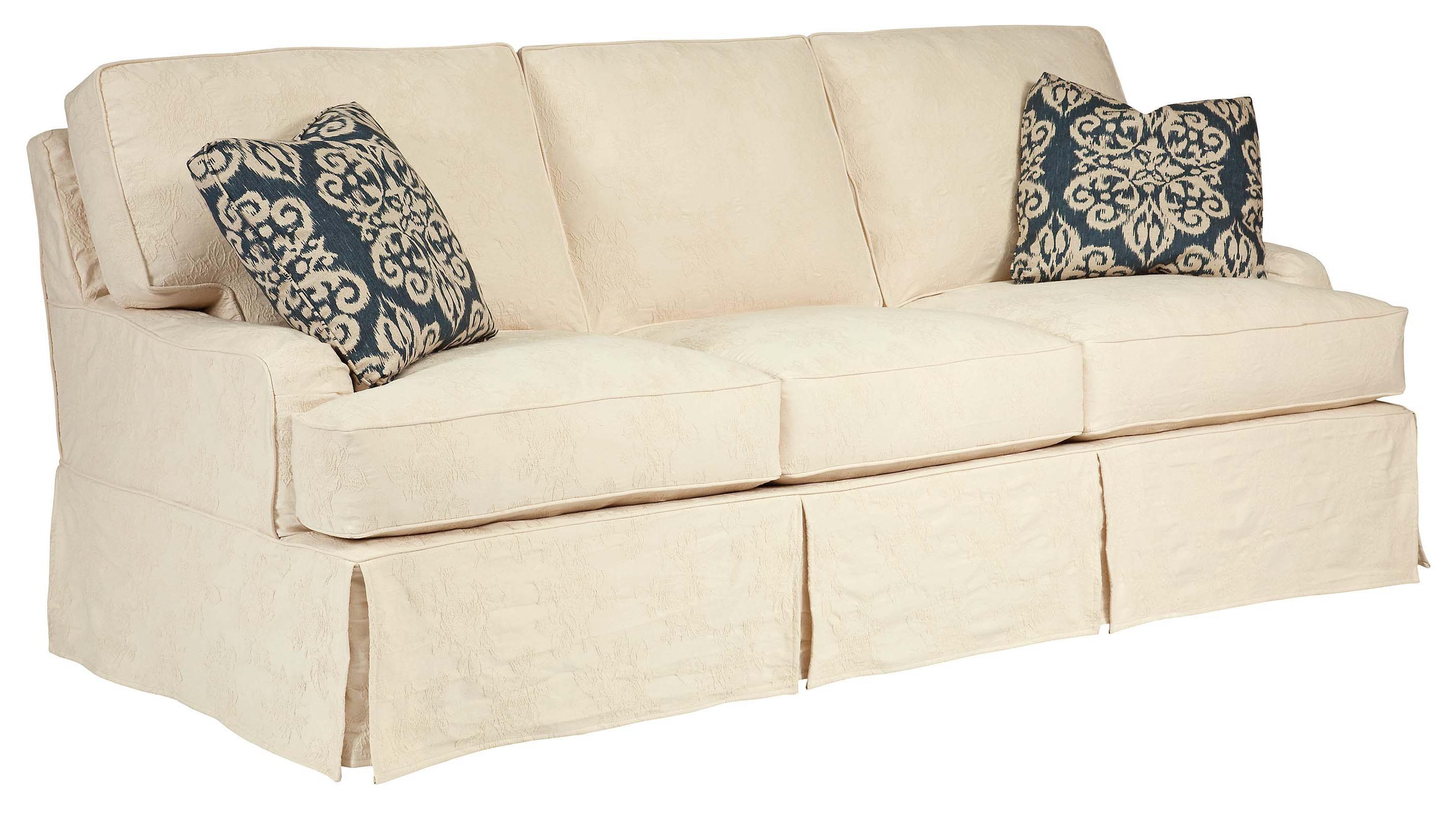Kincaid Furniture Homecoming Simone Slipcover Sofa | Howell ...