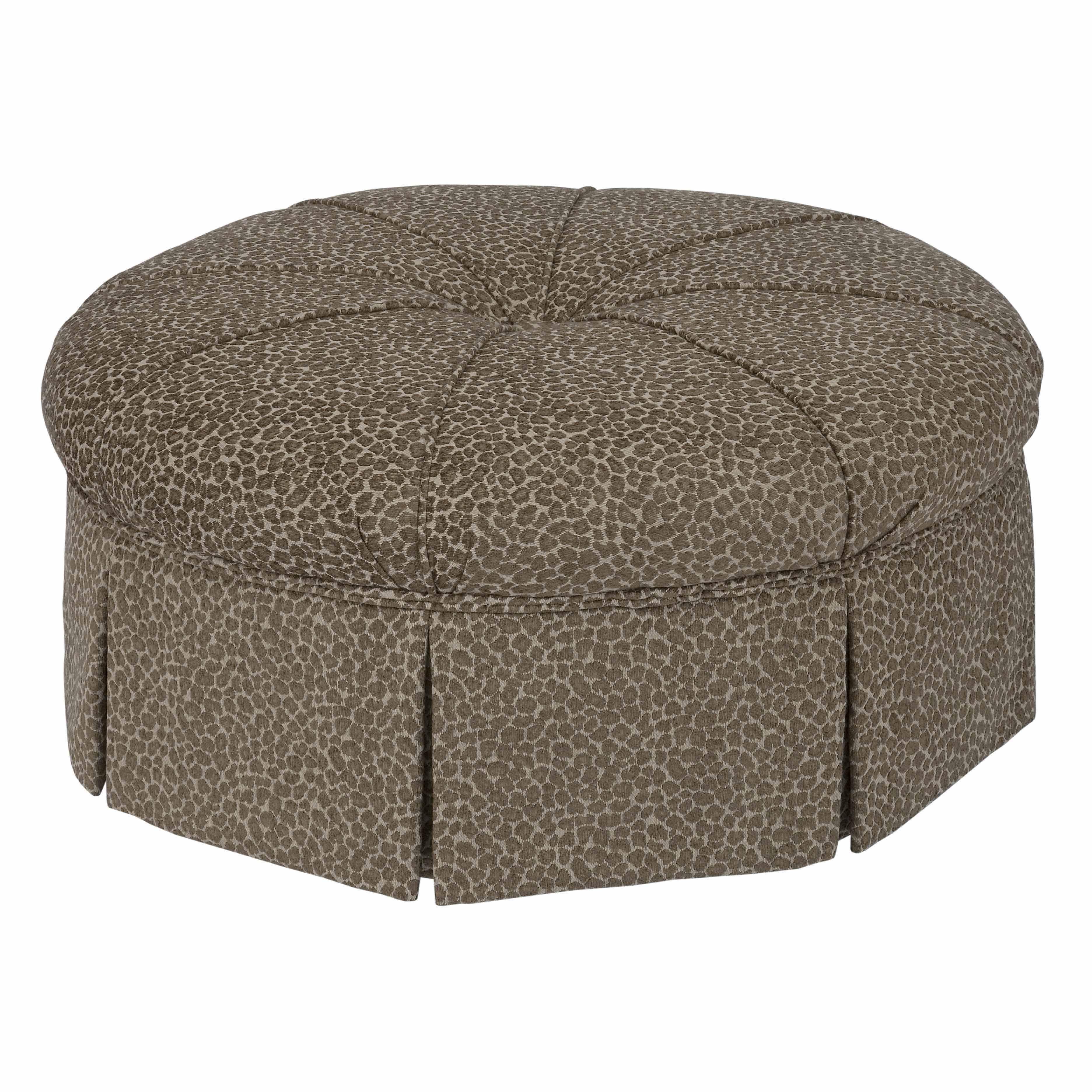 Accent Chairs Round Ottoman by Kincaid Furniture at Johnny Janosik