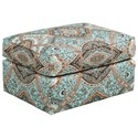 Kincaid Furniture Accent Chairs Tate Ottoman - Item Number: 013-03-Abbotsford Aqua
