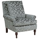 Kincaid Furniture Accent Chairs Holden Chair - Item Number: 014-00-Charm Silver