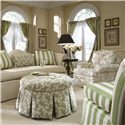 Kincaid Furniture Accent Chairs Swivel Rocker Accent Chair - 027-02