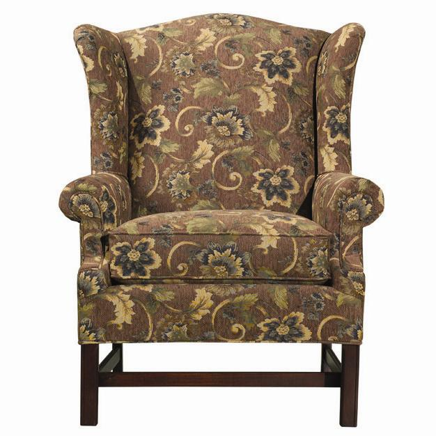 Accent Chairs Upholstered Wing Chair by Kincaid Furniture at Johnny Janosik