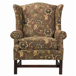 Kincaid Furniture Accent Chairs Upholstered Wing Chair