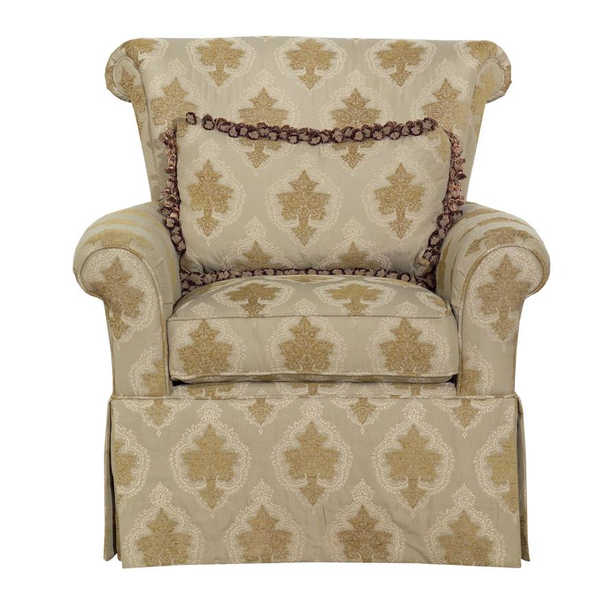Accent Chairs Rolled Arm Chair by Kincaid Furniture at Johnny Janosik