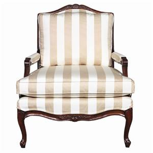 Kincaid Furniture Accent Chairs Exposed Wood Accent Chair