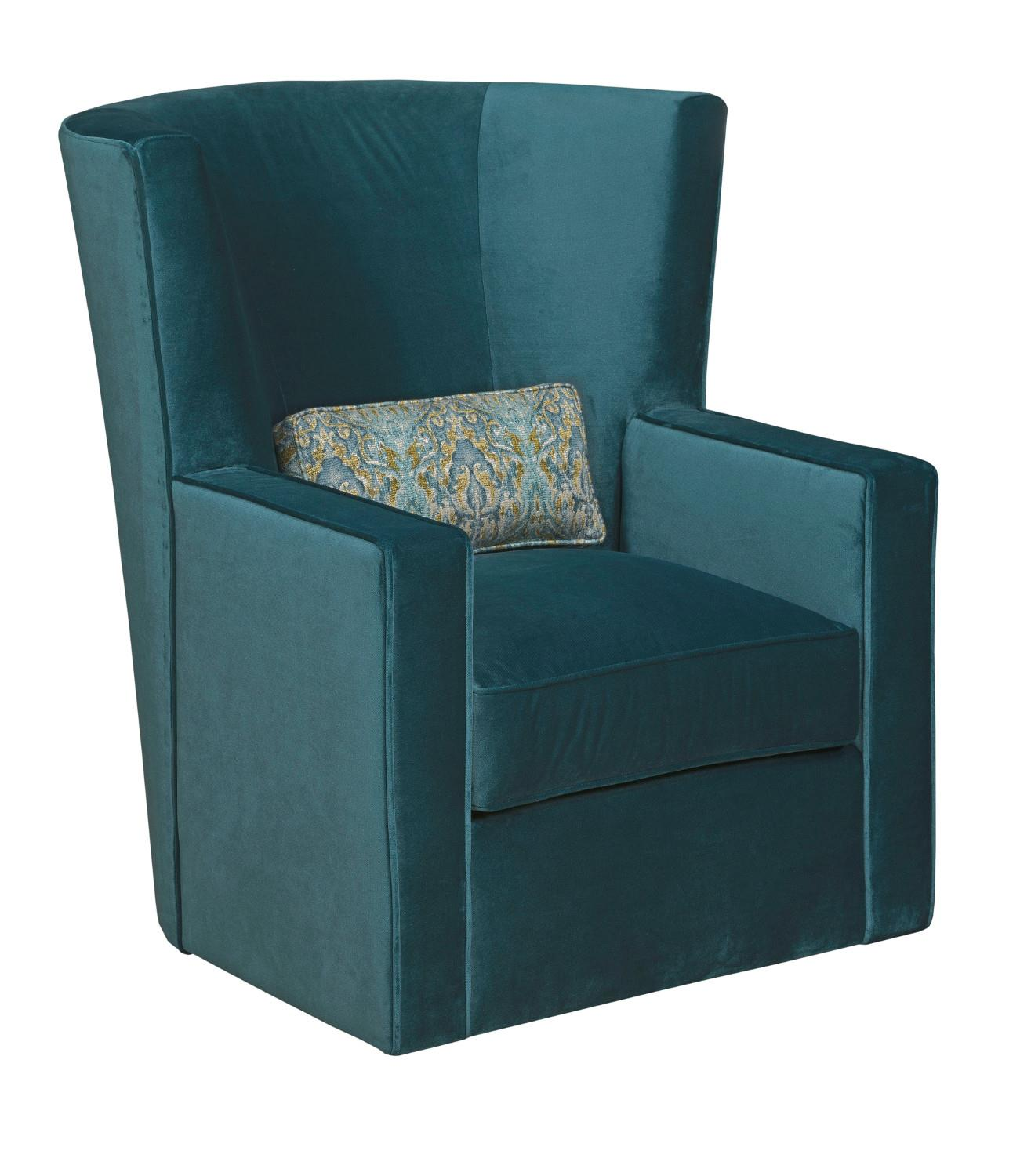 Accent Chairs Fitzgerald Swivel Chair by Kincaid Furniture at Johnny Janosik