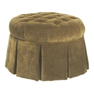 Kincaid Furniture Accent Chairs Skirted Ottoman