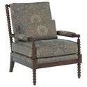 Kincaid Furniture Accent Chairs Accent Chair - Item Number: 098-00-Mariachi Aquamarine