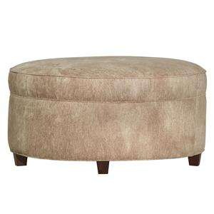 Kincaid Furniture Accent Chairs Round Ottoman