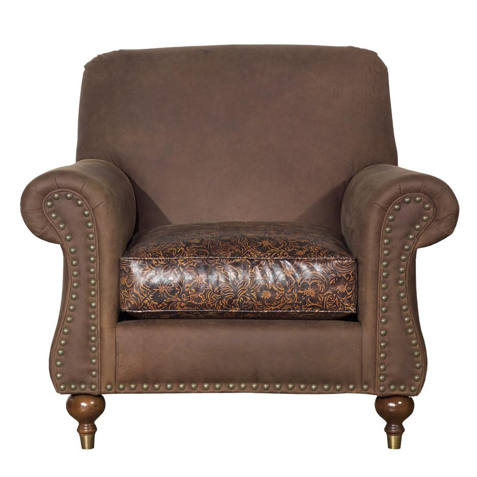 Accent Chairs Rolled Arm Accent Chair by Kincaid Furniture at Johnny Janosik