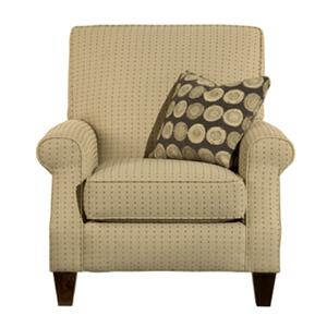 Kincaid Furniture Accent Chairs Madison Rolled Arm Chair