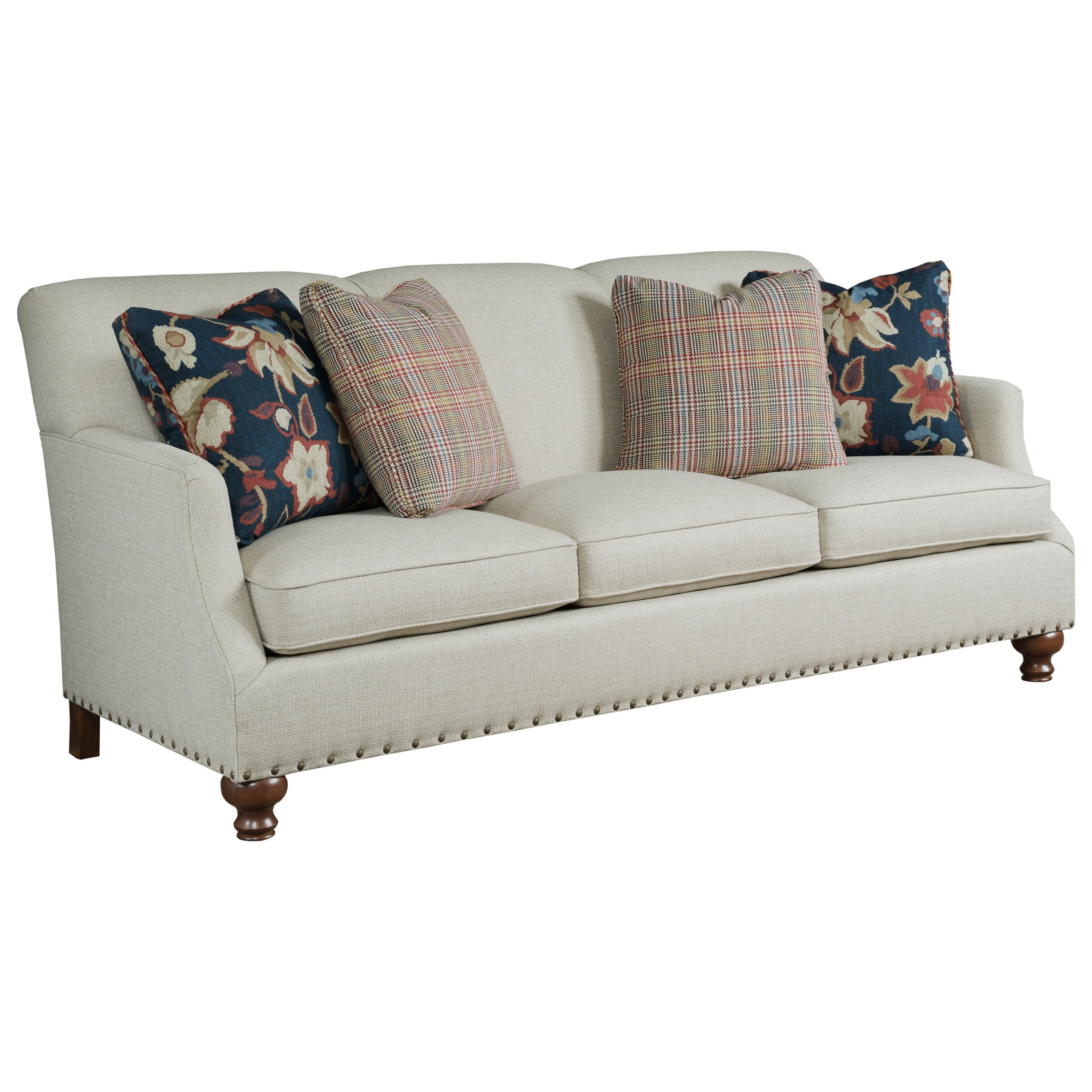 Liberty Upholstered Sofa by Kincaid Furniture at Johnny Janosik