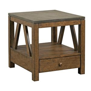 Kincaid Furniture Mason End Table with Drawer