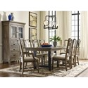 Kincaid Furniture Mill House Formal Dining Room Group - Item Number: 860 Dining Room Group 1