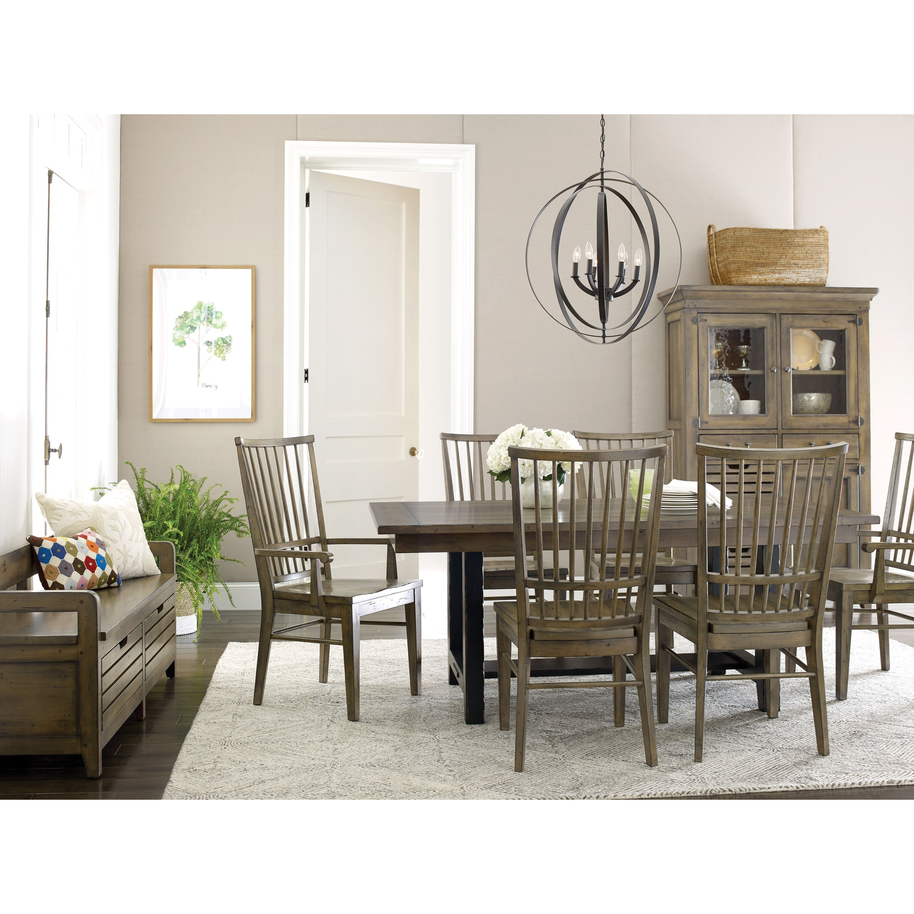 Mill House Formal Dining Room Group by Kincaid Furniture at Johnny Janosik