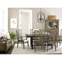 Kincaid Furniture Mill House Formal Dining Room Group - Item Number: 860 Dining Room Group 2