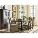Kincaid Furniture Mill House Formal Dining Room Group - Item Number: 860 Dining Room Group 3
