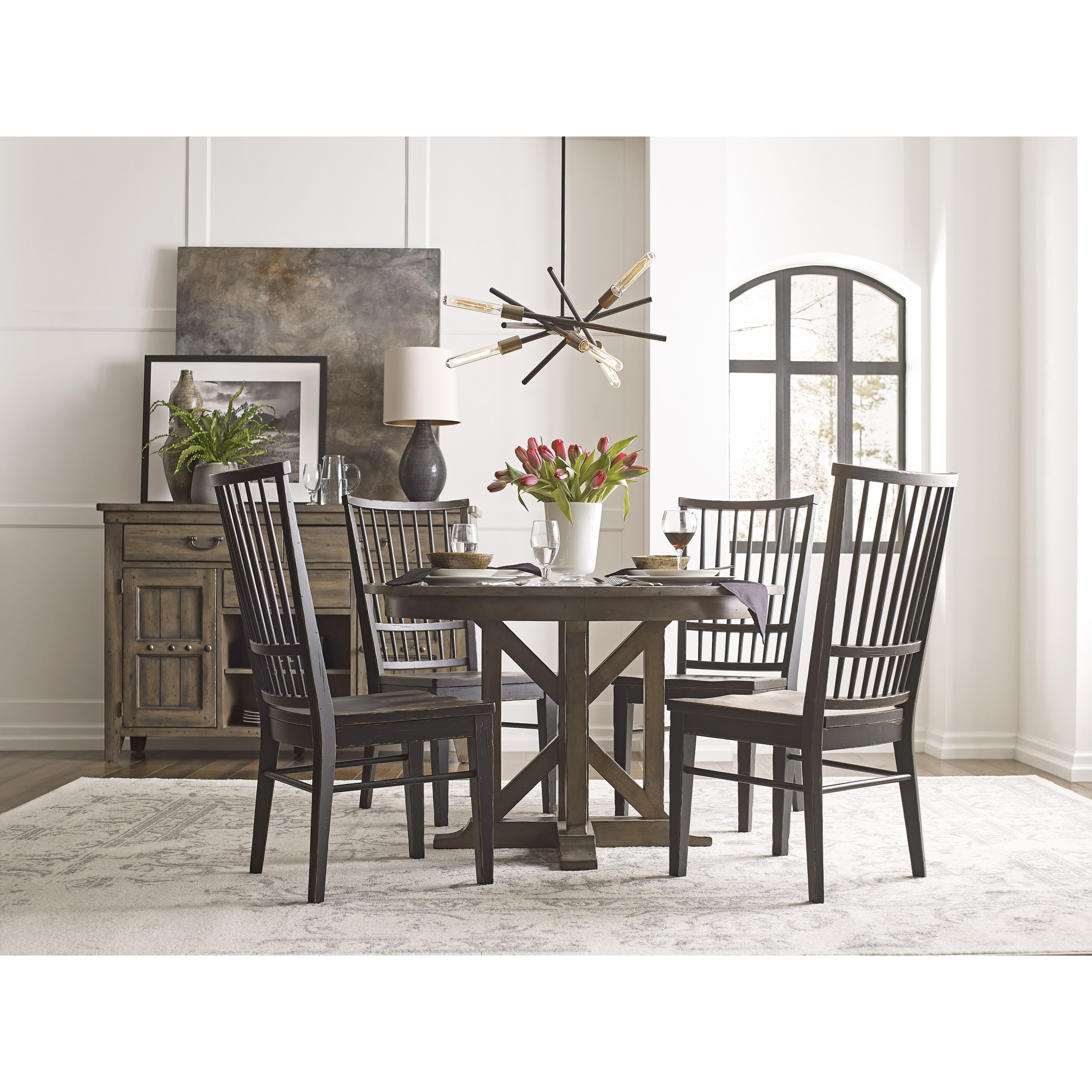 Kincaid Furniture Mill House Casual Dining Room Group