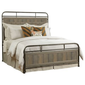 Folsom Queen Metal Bed