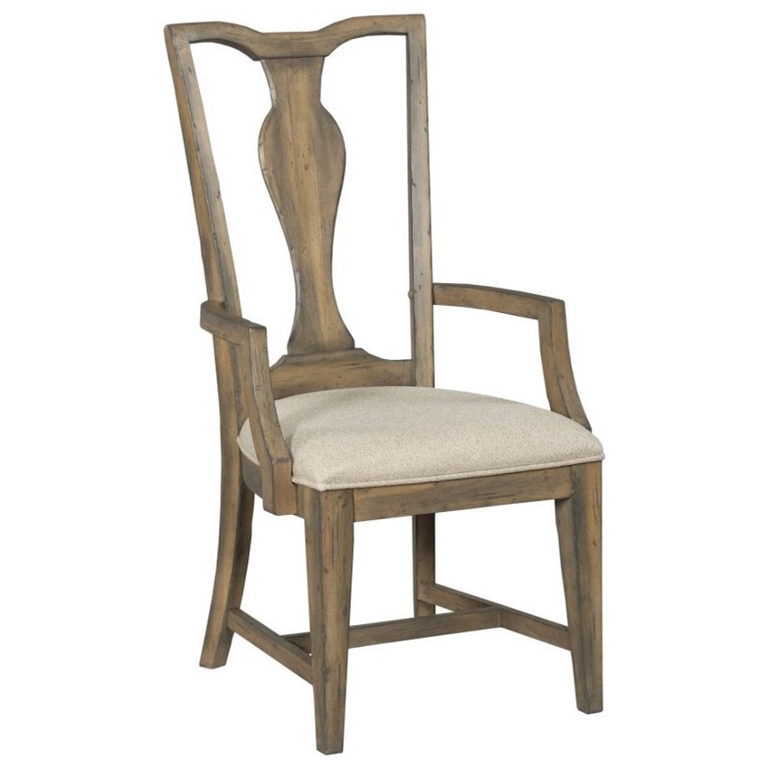 Mill House Copeland Arm Chair by Kincaid Furniture at Johnny Janosik