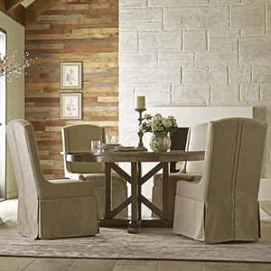 Dining Table and Chair Set for 4