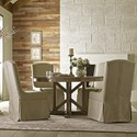 Kincaid Furniture Mill House Dining Table and Chair Set for 4 - Item Number: 860-720P+4x620