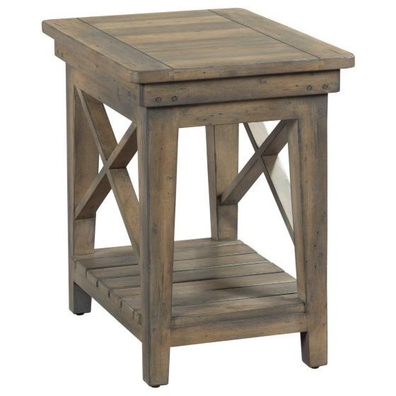 Mill House Melody Chairside Table by Kincaid Furniture at Johnny Janosik