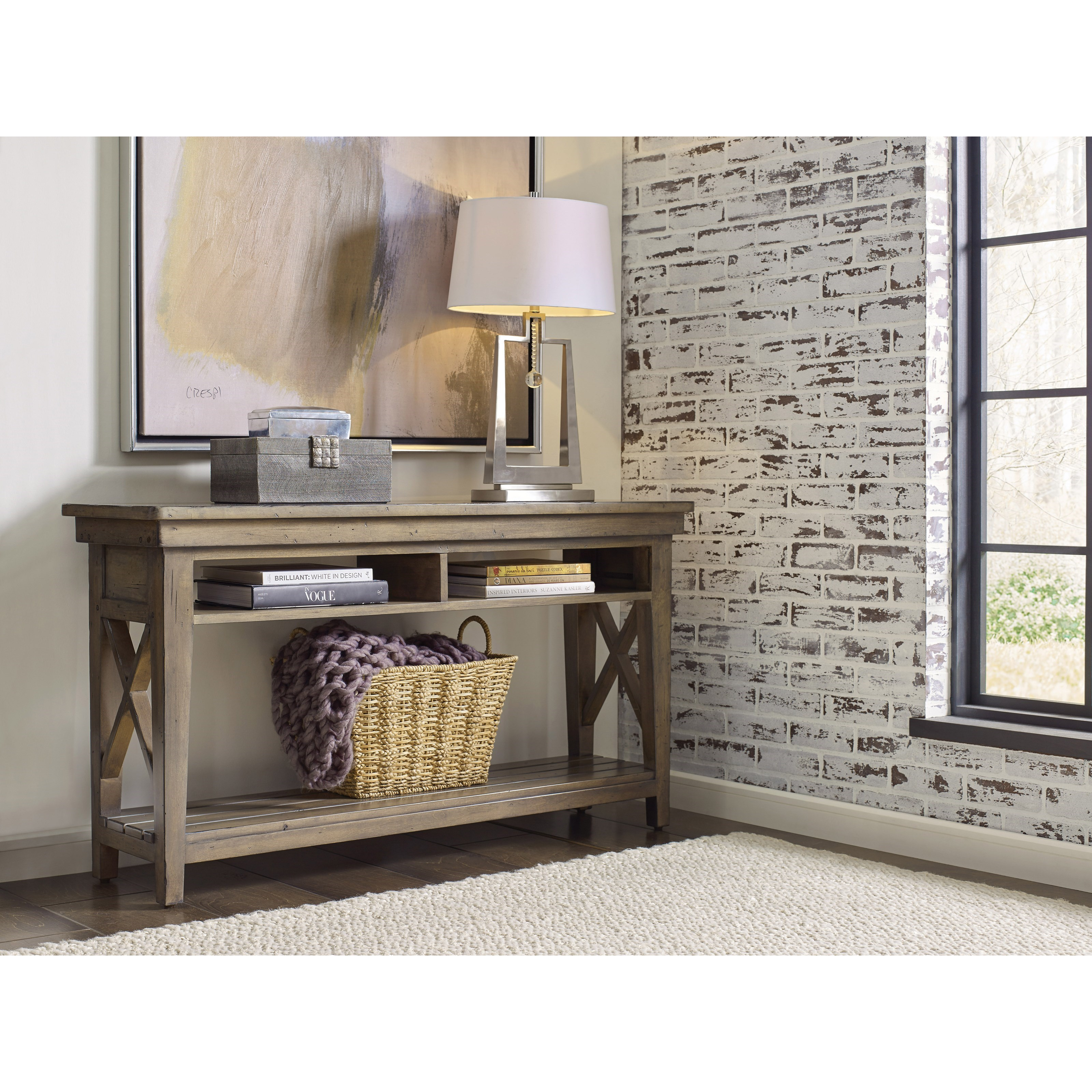 Kincaid Furniture Mill House 860 925 Kenna Solid Wood Sofa