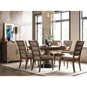 Kincaid Furniture Modern Forge Formal Dining Room Group - Item Number: 944 Dining Room Group 1