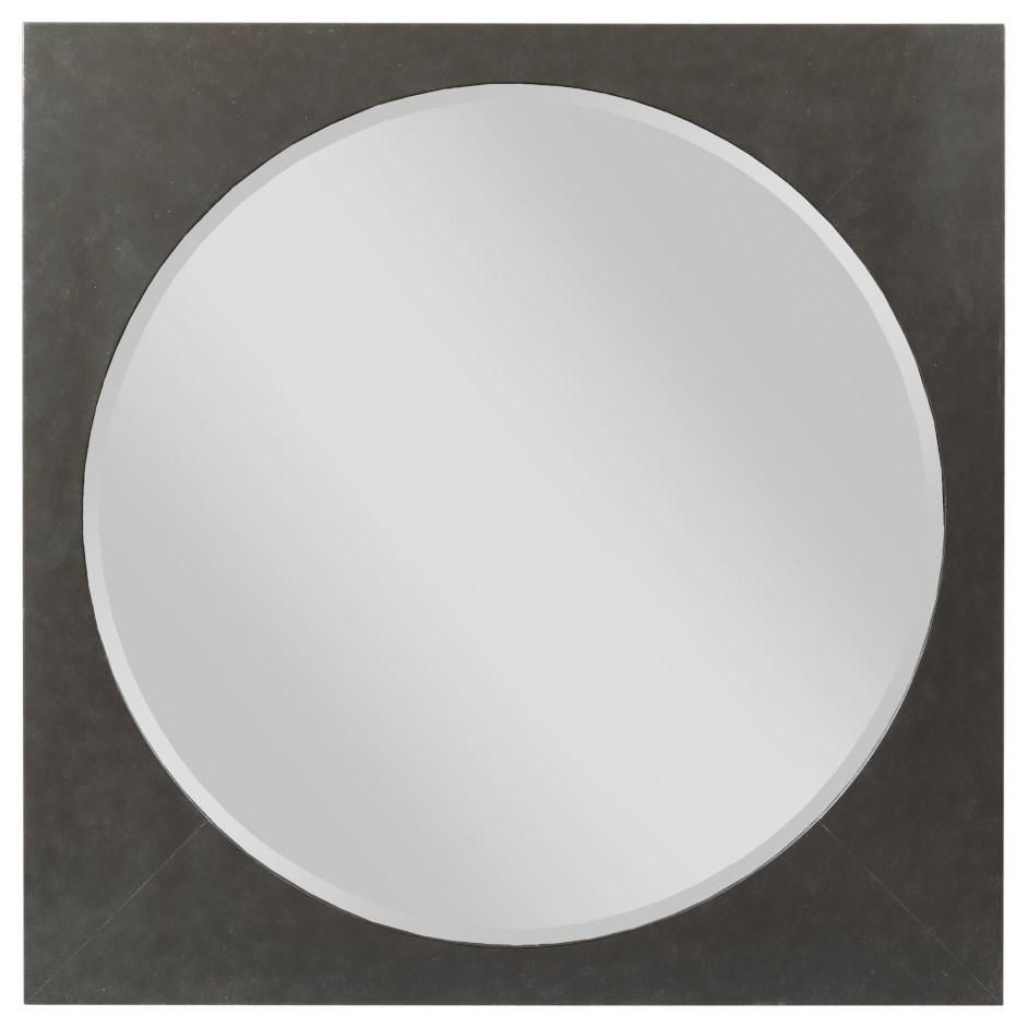Modern Forge Square Metal Mirror at Stoney Creek Furniture
