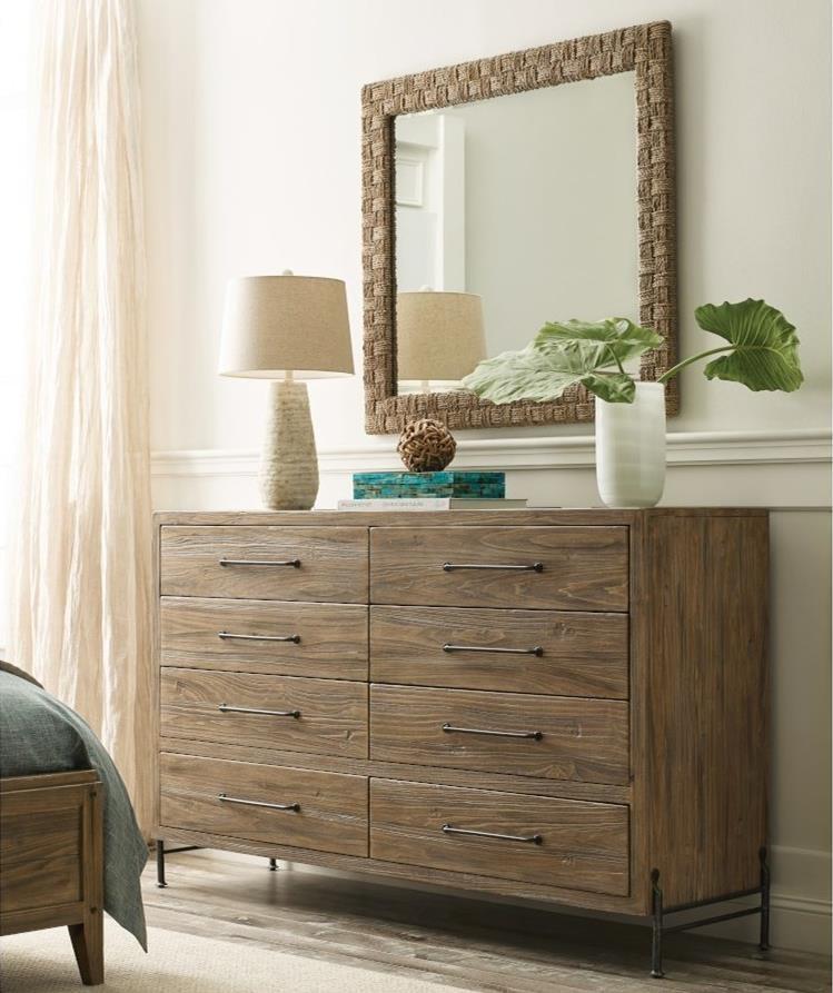 Modern Forge Dresser and Mirror Set at Stoney Creek Furniture