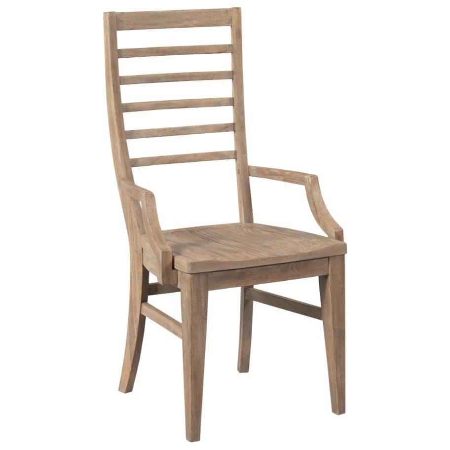 Modern Forge Canton Ladderback Arm Chair at Stoney Creek Furniture