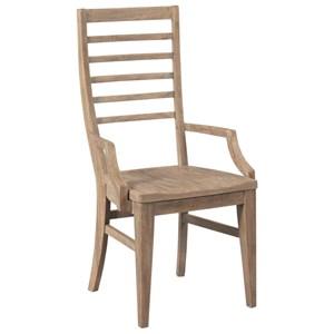 Canton Ladderback Arm Chair