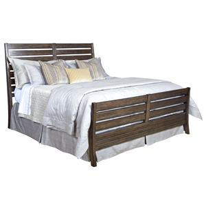 Kincaid Furniture Montreat C. King Rake Bed