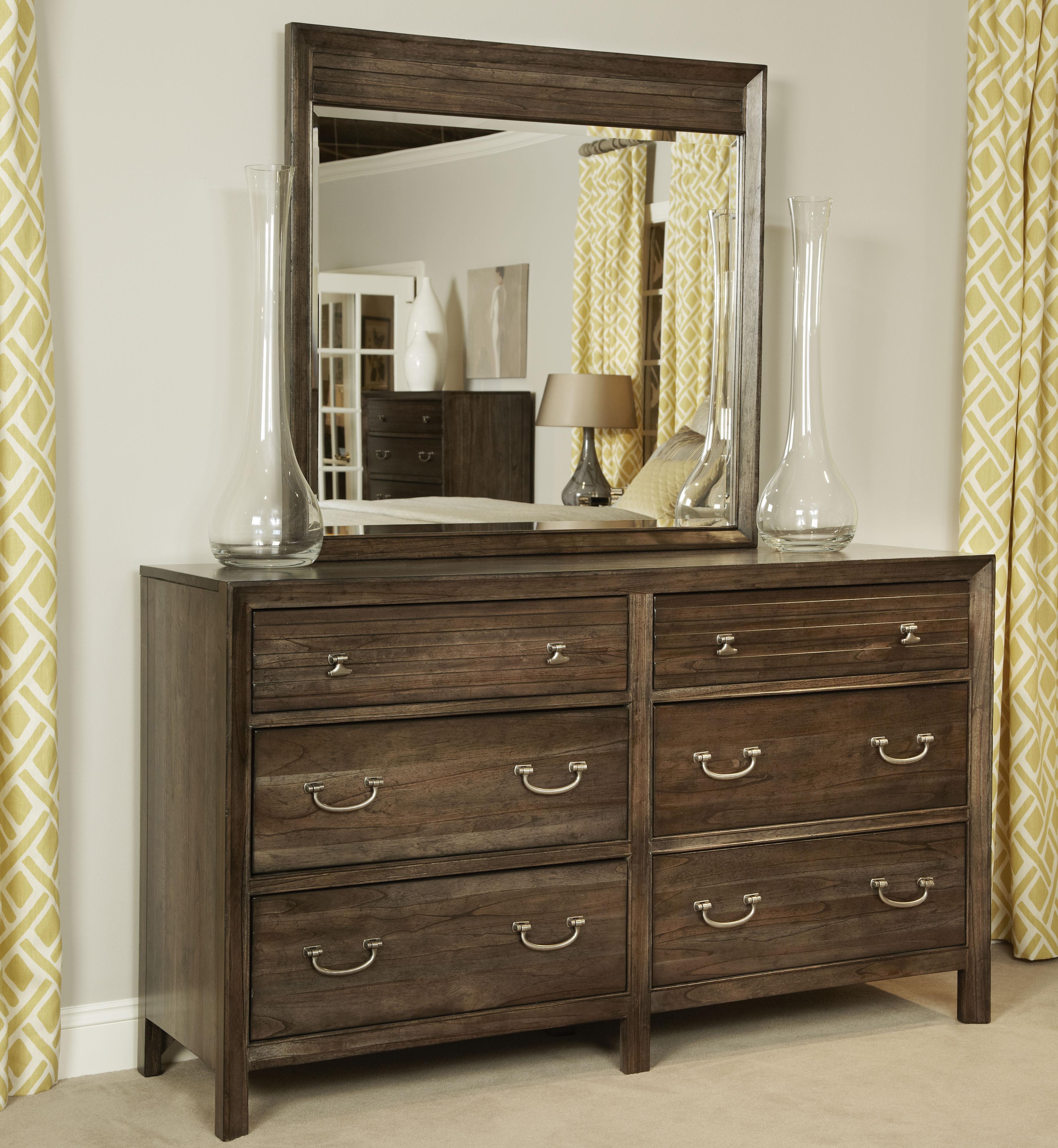 Kincaid Furniture Montreat Dresser & Mirror - Item Number: 84-160+84-114