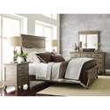 Kincaid Furniture Plank Road Queen Bedroom Group - Item Number: 706 Q Bedroom Group 1