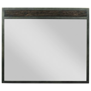 Kincaid Furniture Plank Road Shelley Mirror